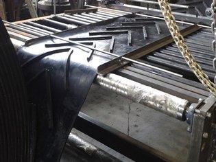 Bandas Industriales Técnicas en Caucho Nervada n20 y n30