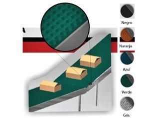 Bandas Industriales Tecnicas en Caucho Corrugadas