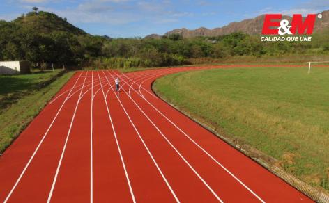 El sistema Truflex fue elegido para la renovación de pista atlética de la CENOP.