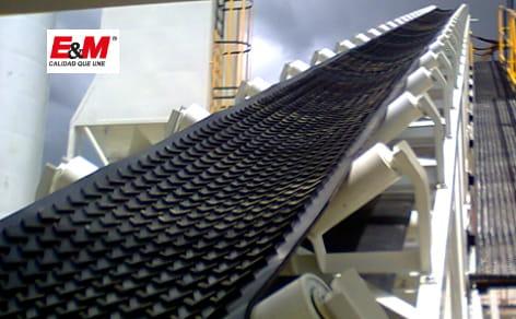 E&M le ofrece bandas transportadoras con calidad garantizada.