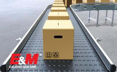 Los materiales de las bandas transportadoras determinan su utilidad en ciertas industrias.