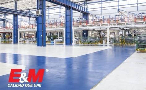 Los pisos industriales cuentan con características únicas dependiendo de las necesidades del ambiente.