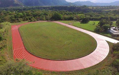 Pista Atlética | Escuela Internacional Fuerza Policial Para la Paz (CENOP) | Depto del Tolima